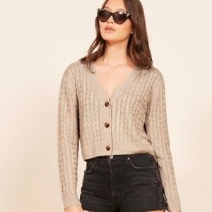 LIKE NEW Reformation Annabell Sweater
